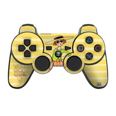 PS3 Controller Skin - You Go Girl