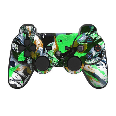 PS3 Controller Skin - Green 1