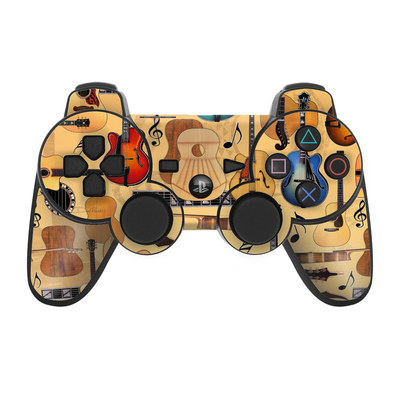 PS3 Controller Skin - Guitar Collage