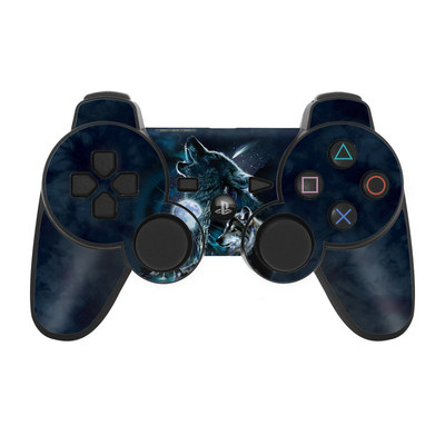 PS3 Controller Skin - Howling