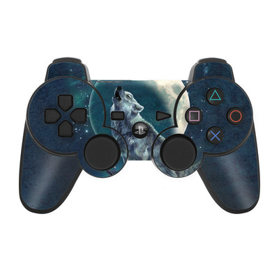 PS3 Controller Skin - Howling Moon Soloist