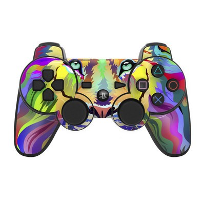 PS3 Controller Skin - King of Technicolor