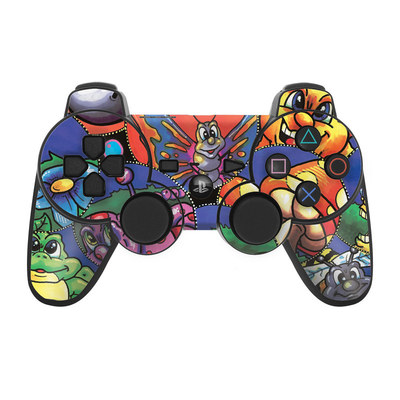 PS3 Controller Skin - Krazy Kritters
