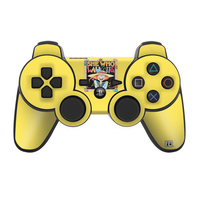PS3 Controller Skin - She Who Laughs