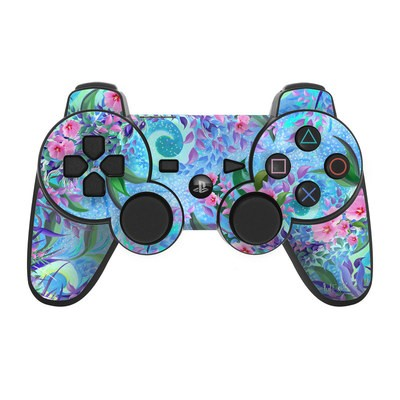 PS3 Controller Skin - Lavender Flowers