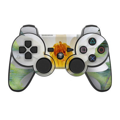 PS3 Controller Skin - Liquid Bloom
