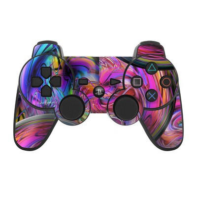 PS3 Controller Skin - Marbles
