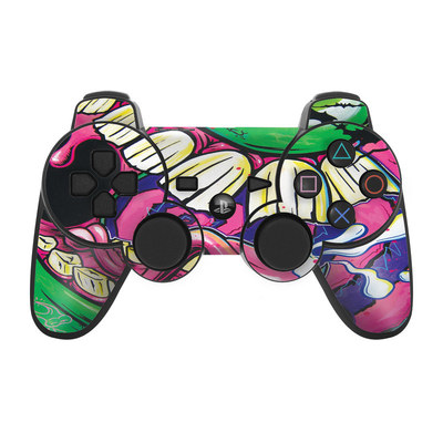 PS3 Controller Skin - Mean Green