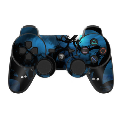 PS3 Controller Skin - Midnight Forest
