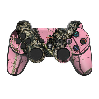 PS3 Controller Skin - Break-Up Pink