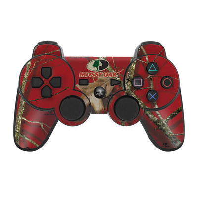PS3 Controller Skin - Break-Up Lifestyles Red Oak