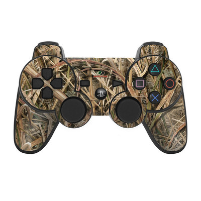PS3 Controller Skin - Shadow Grass Blades
