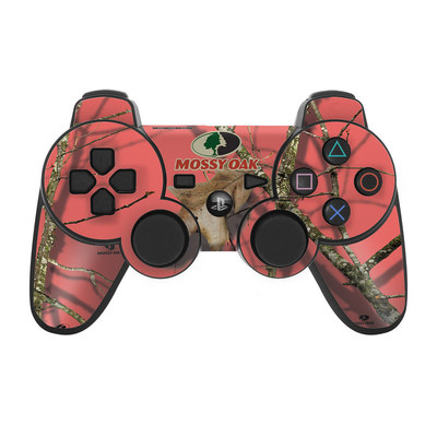 PS3 Controller Skin - Break-Up Lifestyles Salmon
