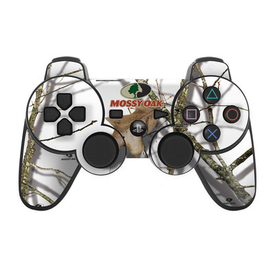 PS3 Controller Skin - Break-Up Lifestyles Snow Drift