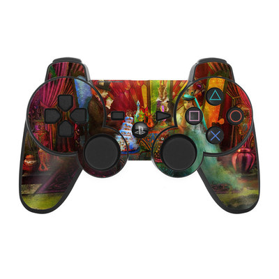 PS3 Controller Skin - A Mad Tea Party