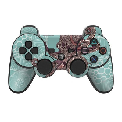 PS3 Controller Skin - Octopus Bloom