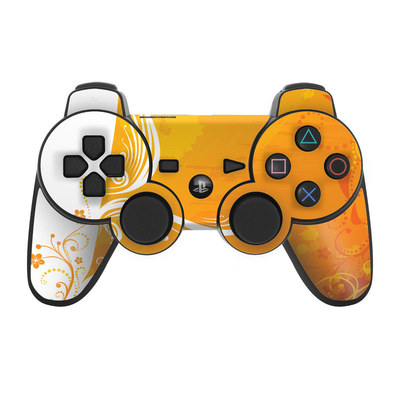 PS3 Controller Skin - Orange Crush
