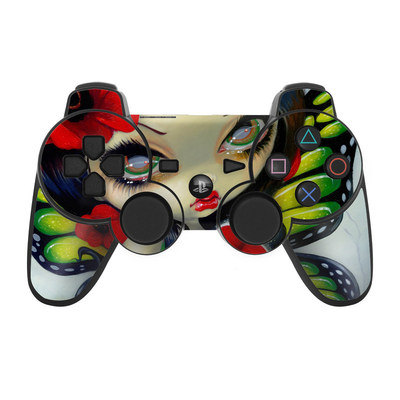 PS3 Controller Skin - Poppy Magic