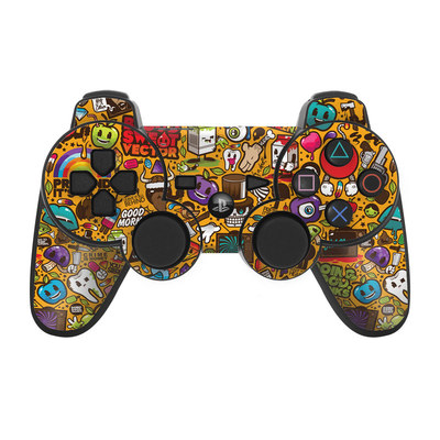PS3 Controller Skin - Psychedelic
