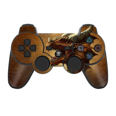 PS3 Controller Skin - Red Dragon