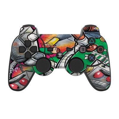 PS3 Controller Skin - Robot Beatdown