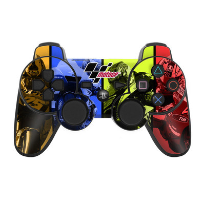 PS3 Controller Skin - Race Panels