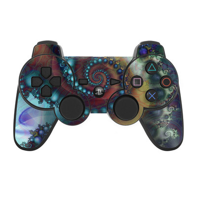 PS3 Controller Skin - Sea Jewel