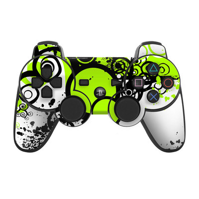 PS3 Controller Skin - Simply Green
