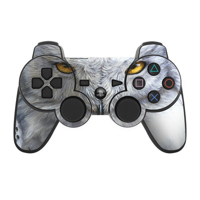 PS3 Controller Skin - Snowy Owl