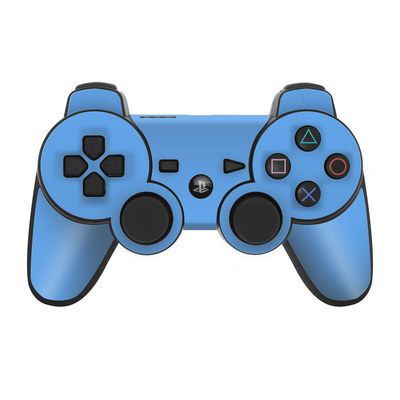 PS3 Controller Skin - Solid State Blue