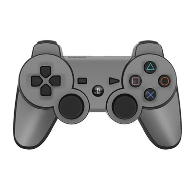 PS3 Controller Skin - Solid State Grey