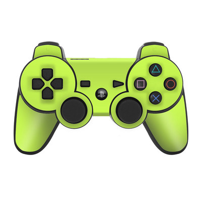 PS3 Controller Skin - Solid State Lime