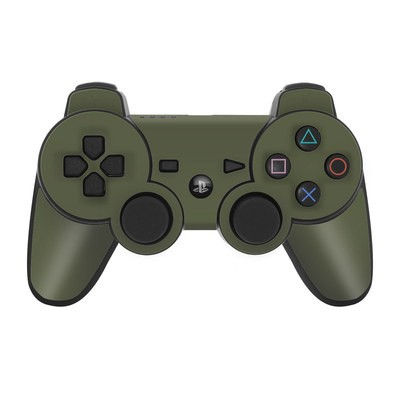 PS3 Controller Skin - Solid State Olive Drab