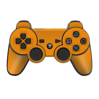 PS3 Controller Skin - Solid State Orange