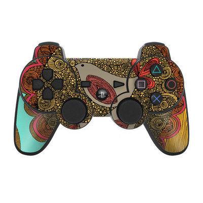 PS3 Controller Skin - Sunshine