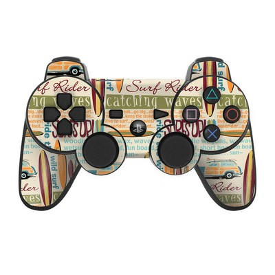 PS3 Controller Skin - Surf Words