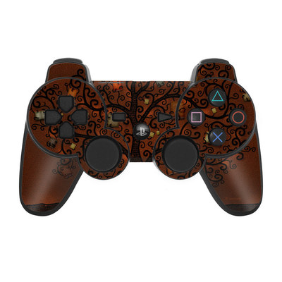 PS3 Controller Skin - Tree Of Books