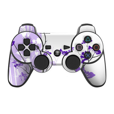 PS3 Controller Skin - Violet Tranquility