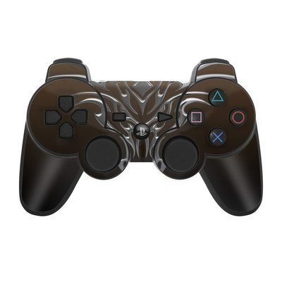 PS3 Controller Skin - Tribal Dragon Chrome