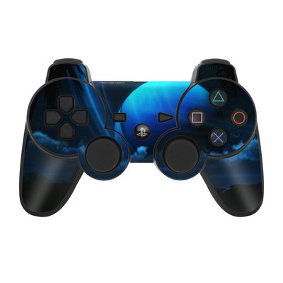 PS3 Controller Skin - Tropical Moon