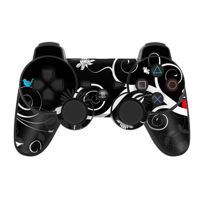 PS3 Controller Skin - Tweet Dark