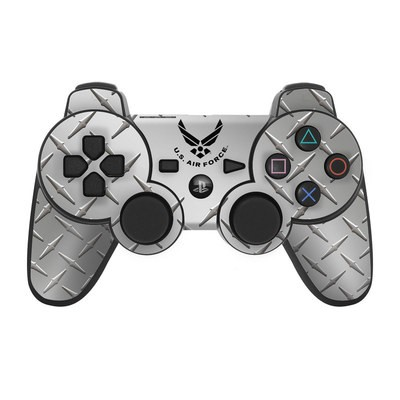 PS3 Controller Skin - USAF Diamond Plate