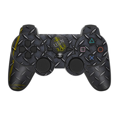 PS3 Controller Skin - USN Diamond Plate