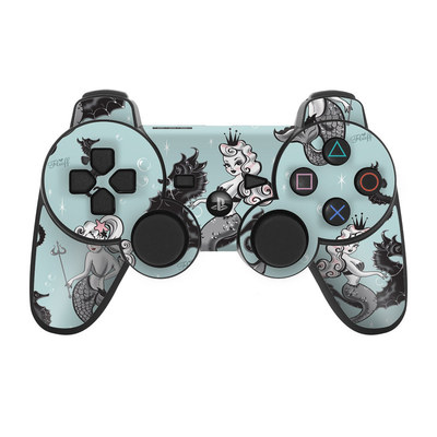 PS3 Controller Skin - Vintage Mermaid