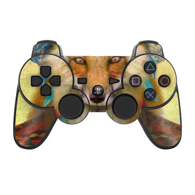 PS3 Controller Skin - Wise Fox