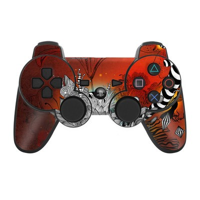 PS3 Controller Skin - Wild Lilly