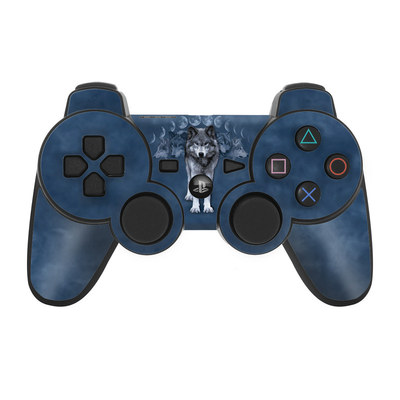 PS3 Controller Skin - Wolf Cycle