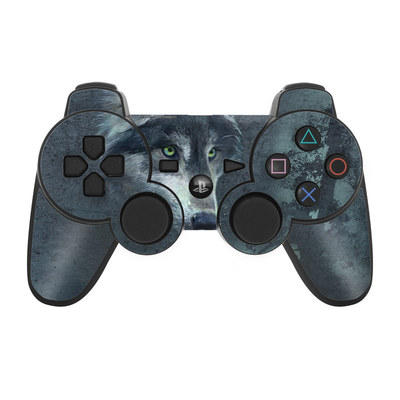 PS3 Controller Skin - Wolf Reflection