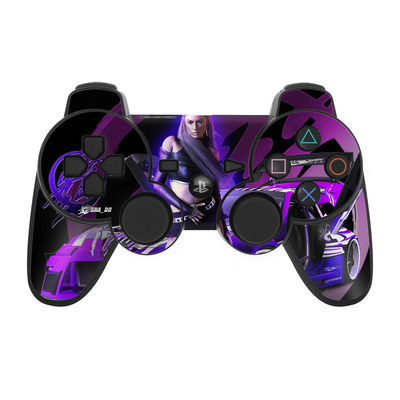 PS3 Controller Skin - Z33 Purple
