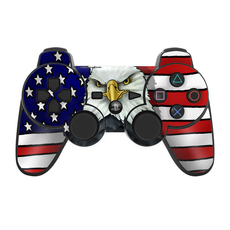 PS Controller Skin American Eagle By Flags DecalGirl - Skins para minecraft ps3 gratis
